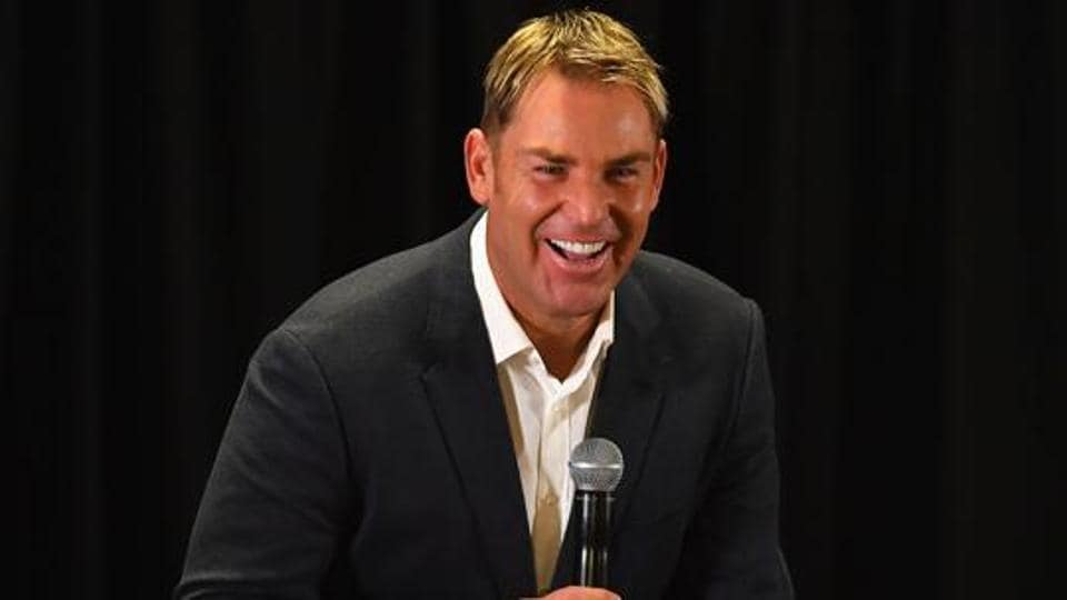 Shane Warne lost a bet to Sourav Ganguly during the ICCChampions Trophy 2017.
