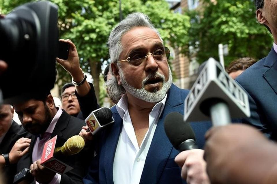 Vijay Mallya in London on June 13.