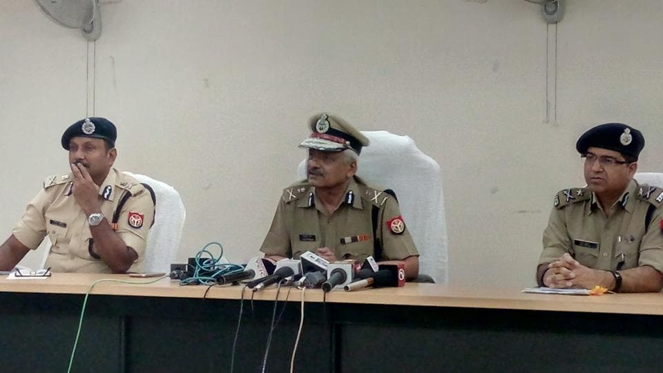 The director general of police met senior police officials under Meerut range in Greater Noida on Friday for the first time since his appointment to discuss the law and order situation in the western belt of UP.
