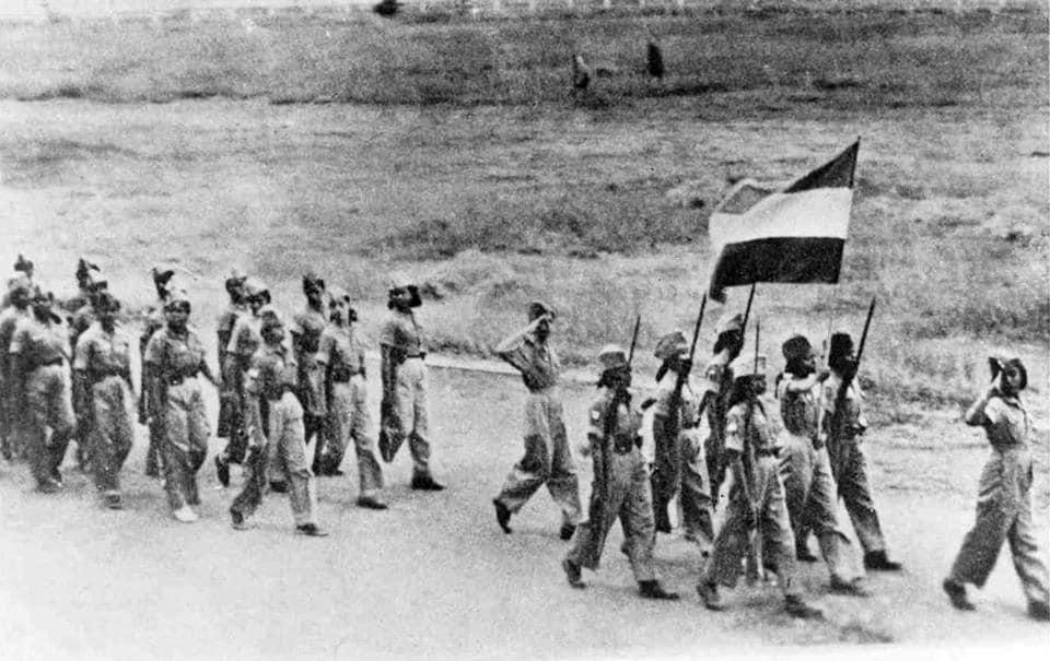 The INA's Rani of Jhansi Regiment.