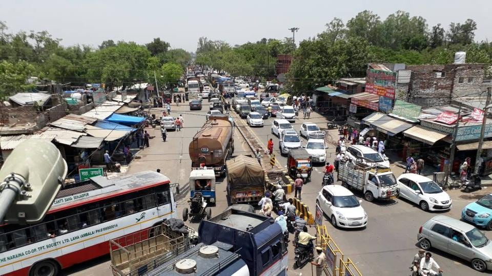 Though the local administrations and police had made diversions, the vehicular movement was still disrupted at different places, mainly in Ambala, Kurukshetra, Panipat, Sonepat, Hisar and Sirsa.