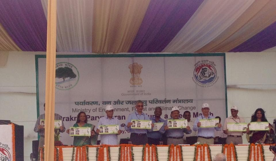 The function to mark the close of the Swacchhta Pakhwada was held at the Delhi Zoo on Thursday.