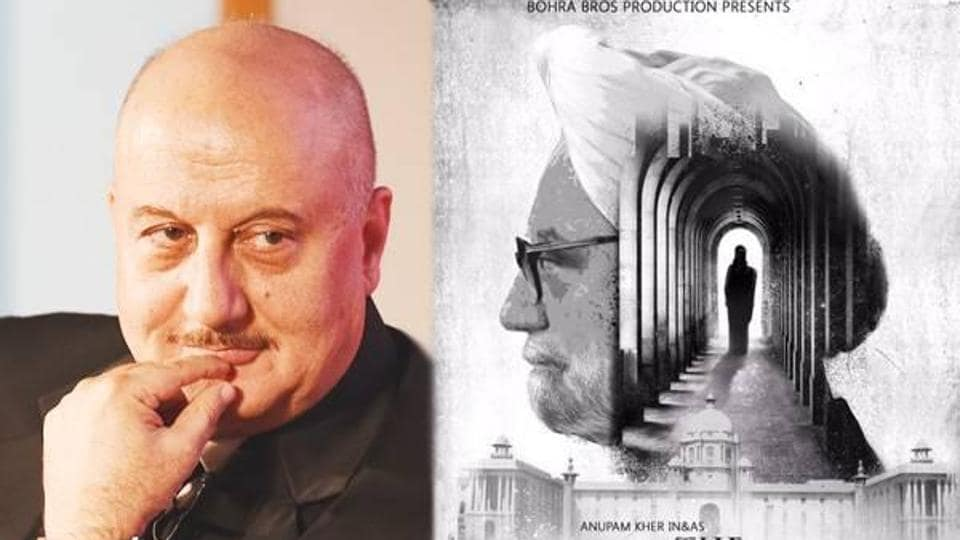 Anupam Kher,Manmohan Singh,The Accidental Prime Minister