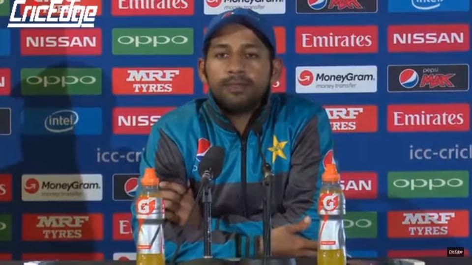 Sarfraz Ahmed,Indian Cricket Team,Pakistan Cricket Team