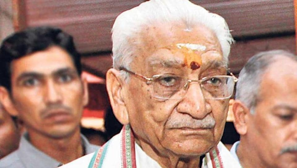 Ashok Singhal's ashes were preserved in a monastery in Himachal Pradesh for around six months.