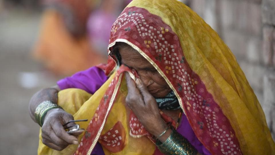 the tragedy of farmers' suicides in Of the data we are also grateful to the families of the suicide victims, who  cooperated with us during data collection despite such tragedies in their  households.
