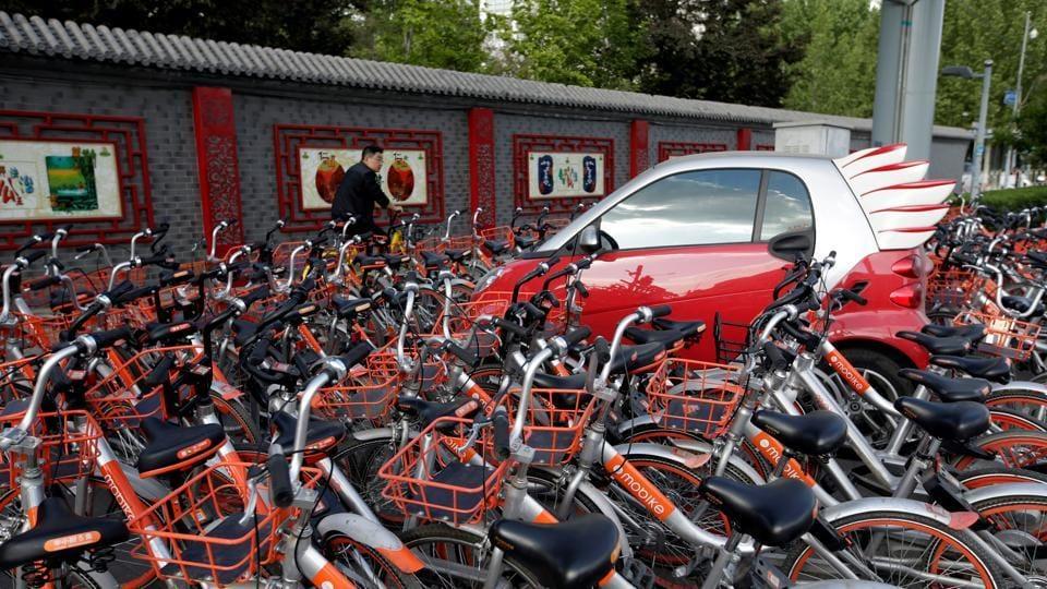 Mobike,Bike-sharing,Chinese startup