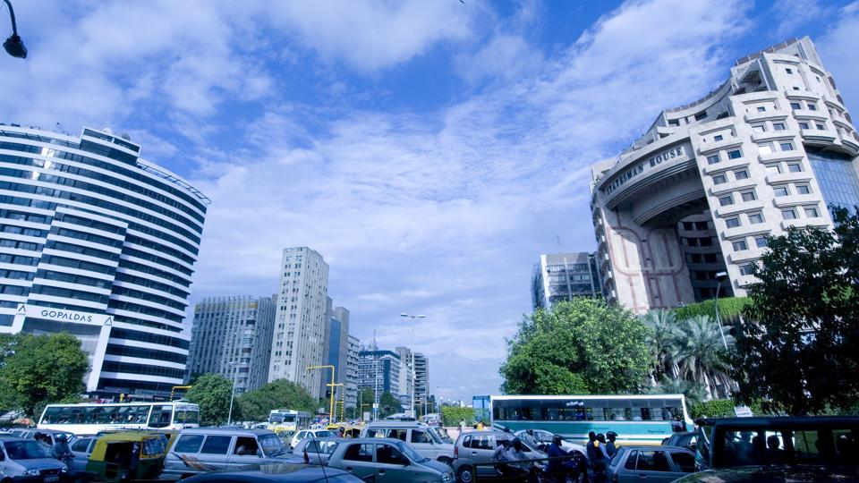 New Delhi's central business district of Connaught Place is the 9th most expensive office market in the world with an occupancy cost of $153.89 per sqft per annum.