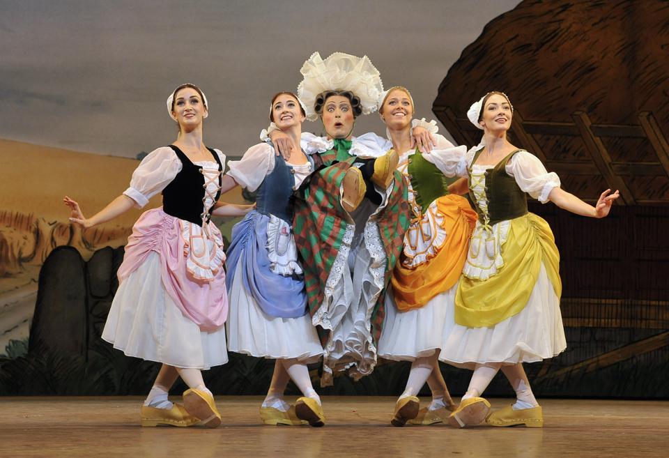 Frederick Ashton's joyous comic ballet 'La Fille Mal Gardee' as performed by The Royal Ballet At The Royal Opera House
