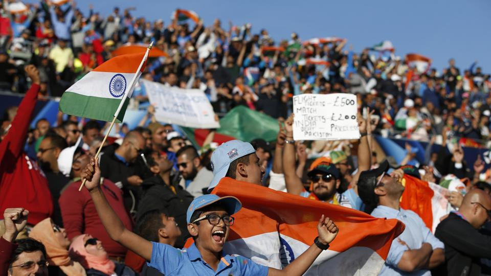 The ICC Champions Trophy final might be on Sunday, but Indian fans have already begun the social media war of words.