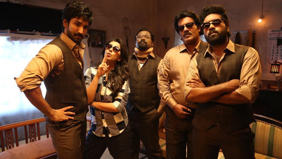 Maragatha Naanayam movie review,Horror film Maragatha Naanayam,Horror comedy Maragatha Naanayam