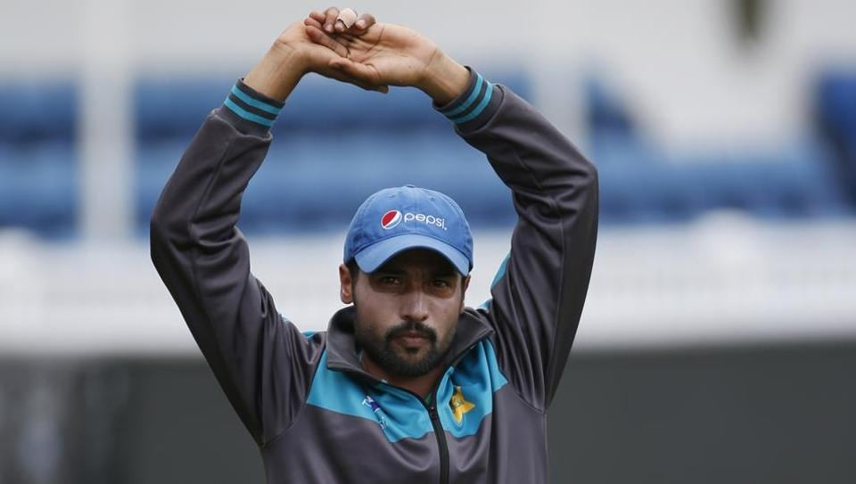 Mohammad Amir is likely to be fit for selection for the Champions Trophy final against India. (REUTERS)