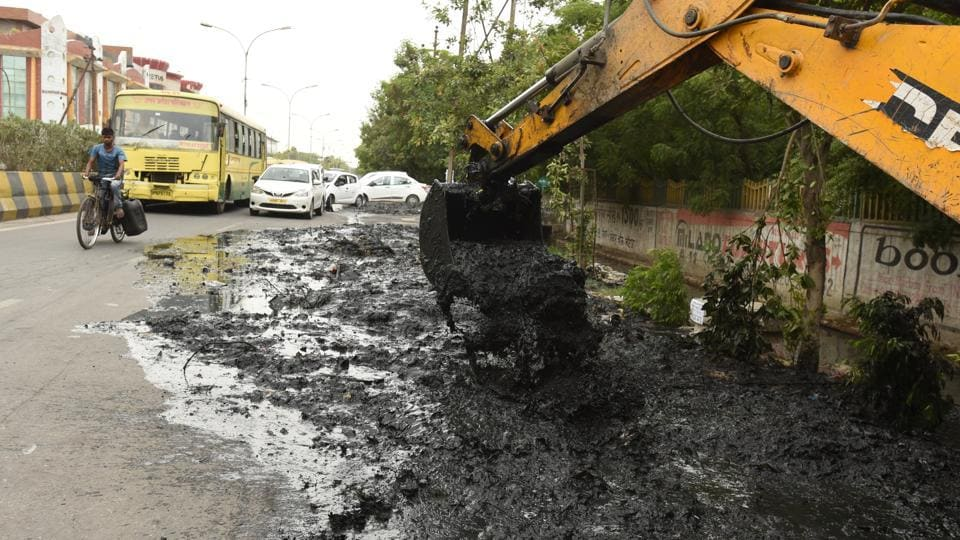 Sectors 1, 2, 3, 4, 5, 6, 11, 28, 29, 12, 39, 63 and 50, among others, battle extensive waterlogging every year due to a fault in the gradient of the drainage network, the officials said.