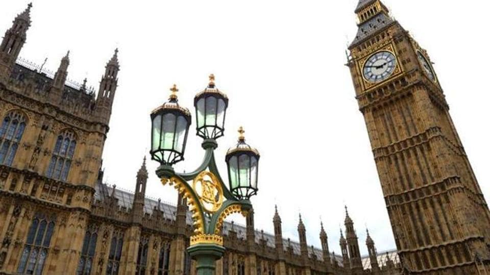 Britain's Houses of Parliament located in London.