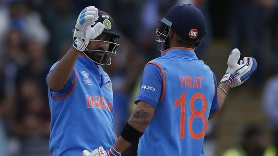 Harbhajan Singh feels Rohit Sharma and Virat Kohli have come into form at the right time.