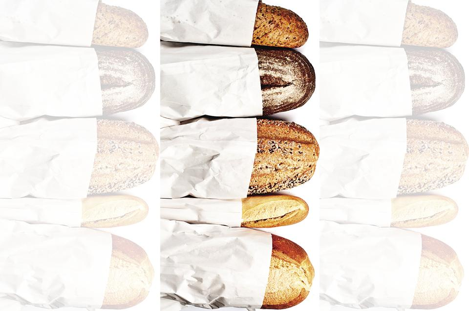 There is a wide variety of bread available in the market