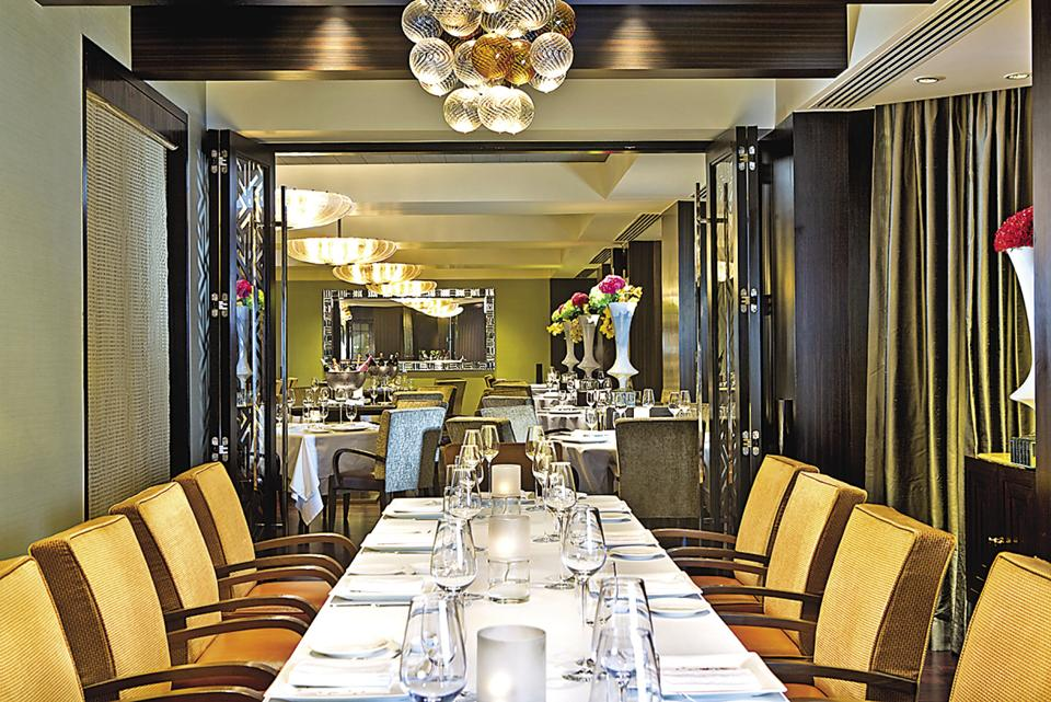 Stax is a high concept, multi-storey restaurant with a funky design.