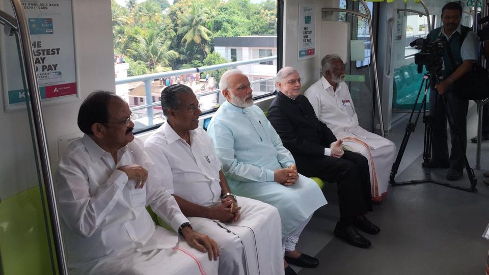 Kochi Metro,Narendra Modi,E Sreedharan
