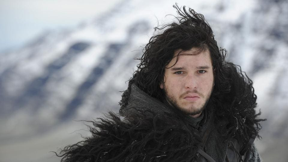 Jon Snow from hit American fantasy drama television series, Game of Thrones