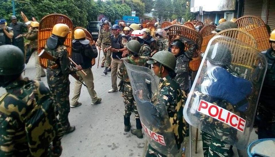 Darjeeling,Violence in Darjeeling,GJM