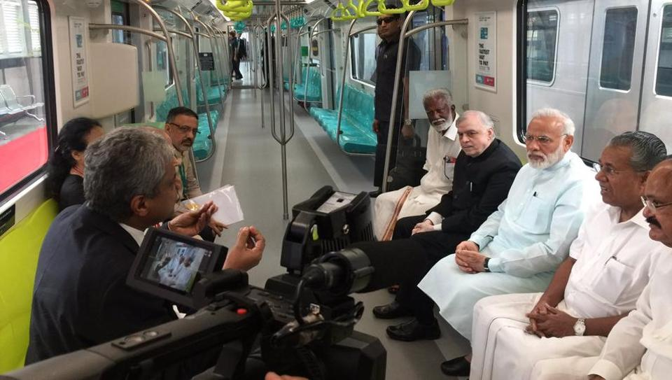 Kochi Metro,Narendra Modi,Sreedharan