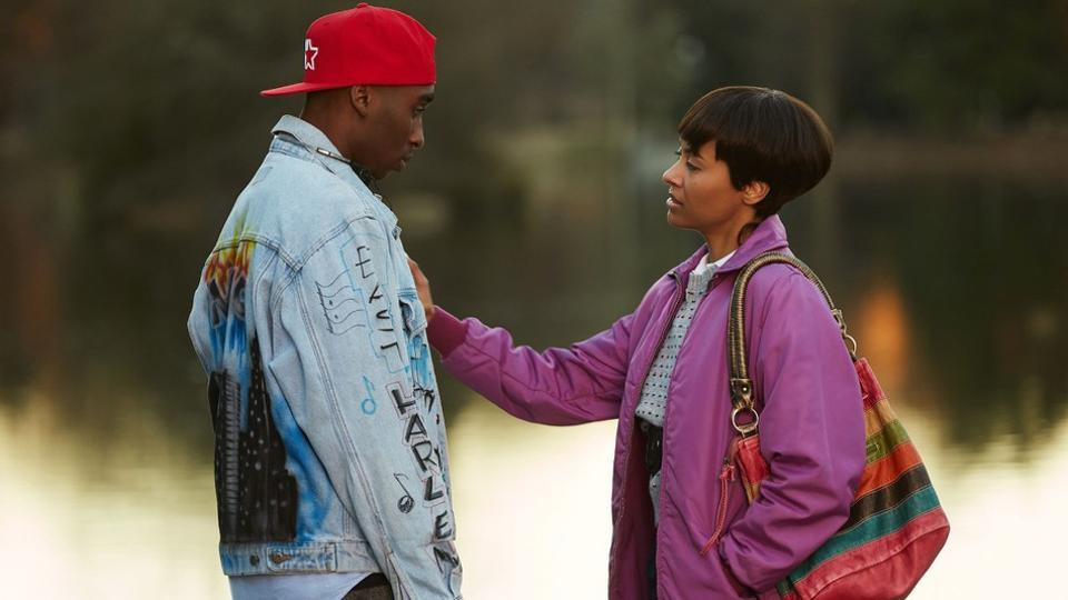 Jada Pinkett Smith, wife of Will Smith, is played by Kat Graham in All Eyez on Me.