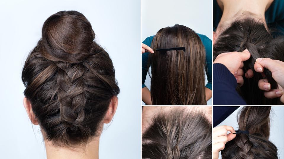 Summer hairdos: How to beat the heat with some cool hair up-dos ...