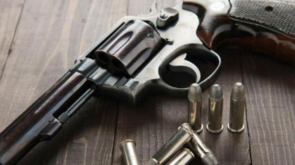 A DJ was killed in celebratory firing at a function in UP's Dudhaheri village.