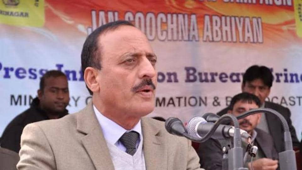 Abdul Haq Khan,Jammu and Kashmir,JK Minister