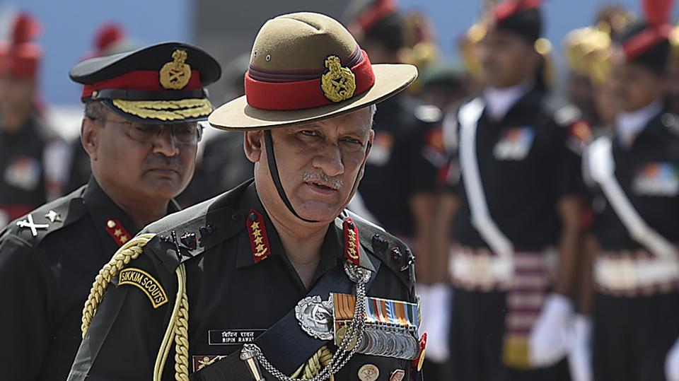General Bipin Rawat spoke to reporters at an interaction after presiding over a Passing Out Parade ceremony at Air Force Academy on Saturday.