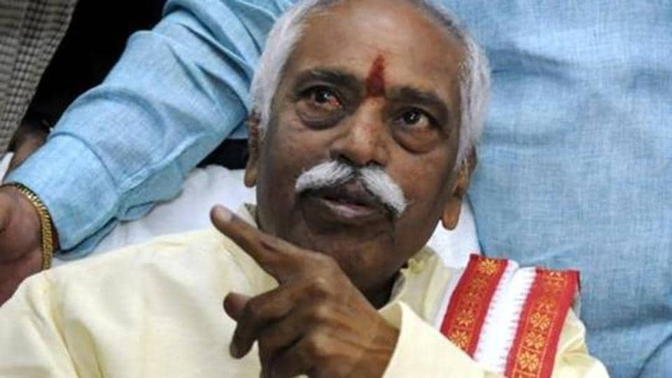 File photo of Union labour minister Bandaru Dattatreya.