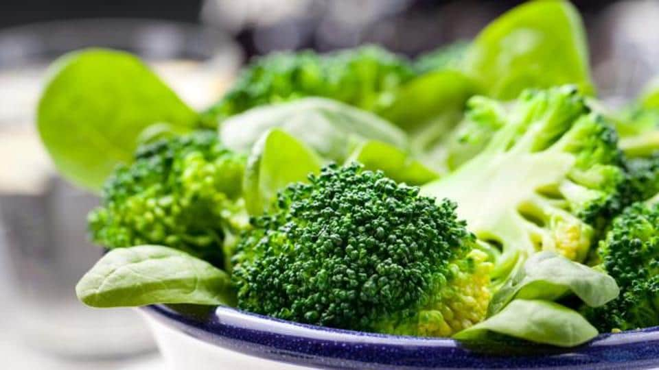 Broccoli is good source of dietary fiber, vitamin B6, vitamin E, vitamin B1, vitamin A , and minerals like manganese, phosphorus, potassium and copper.