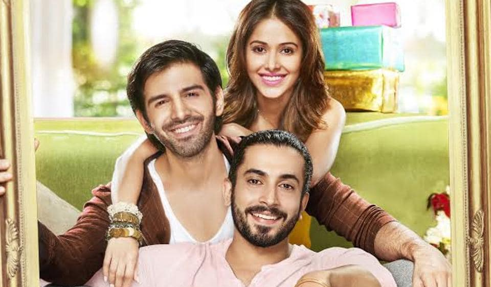 Karthik Aaryan, Nushrat Bharucha and Sunny Singh are back with their new film.