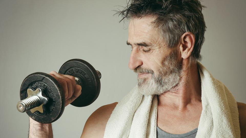 Older adults benefit with recreational activities such as muscle-strengthening activities.