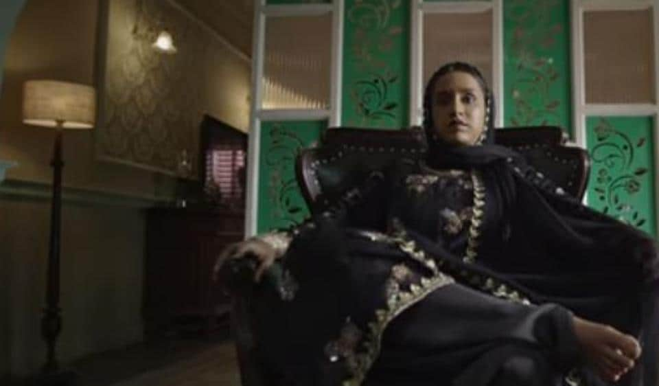 Shraddha Kapoor plays Dawood Ibrahim's sister, Haseena in the film directed by Apoorva Lakhia.