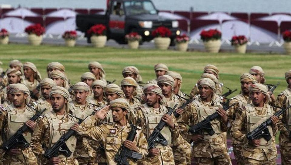 Bahrain has ordered Qatari troops serving with a coalition fighting the Islamic State group to leave its territory, a source with knowledge of the situation said on Sunday.