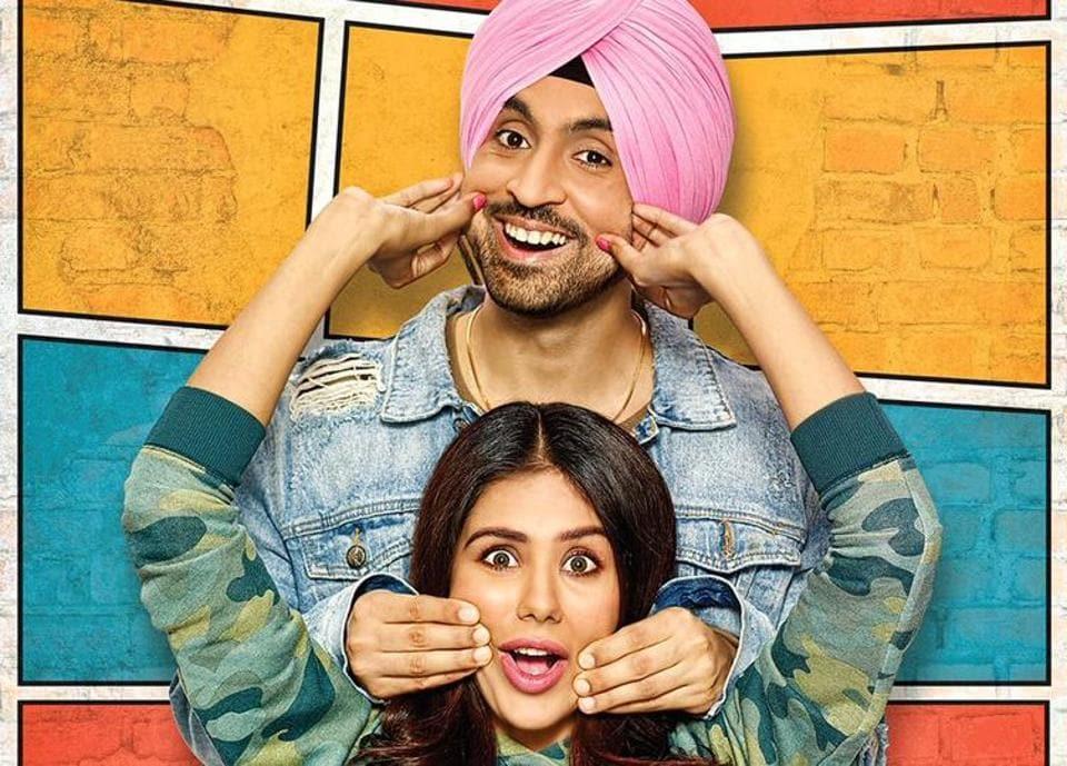 Diljit Dosanjh and Sonam Bajwa in Super Singh.