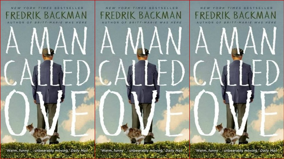 Book review,A Man Called Ove,Fredrik Backman