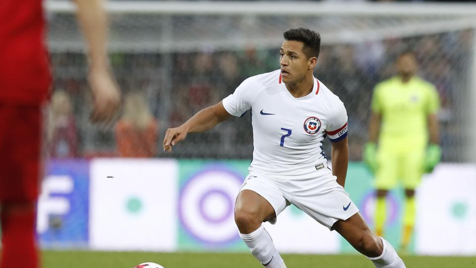 Alexis Sanchez might just be unavailable for selection for Chile's Confederations Cup opener.