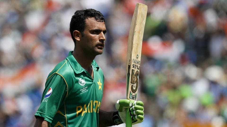 Pakistan's Fakhar Zaman scored his maiden century in the final of the ICC Champions Trophy against India.