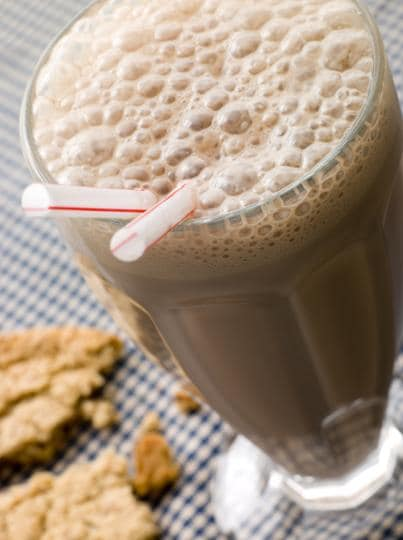 Chocolate milkshakes after a hard day in college - could anything be better?