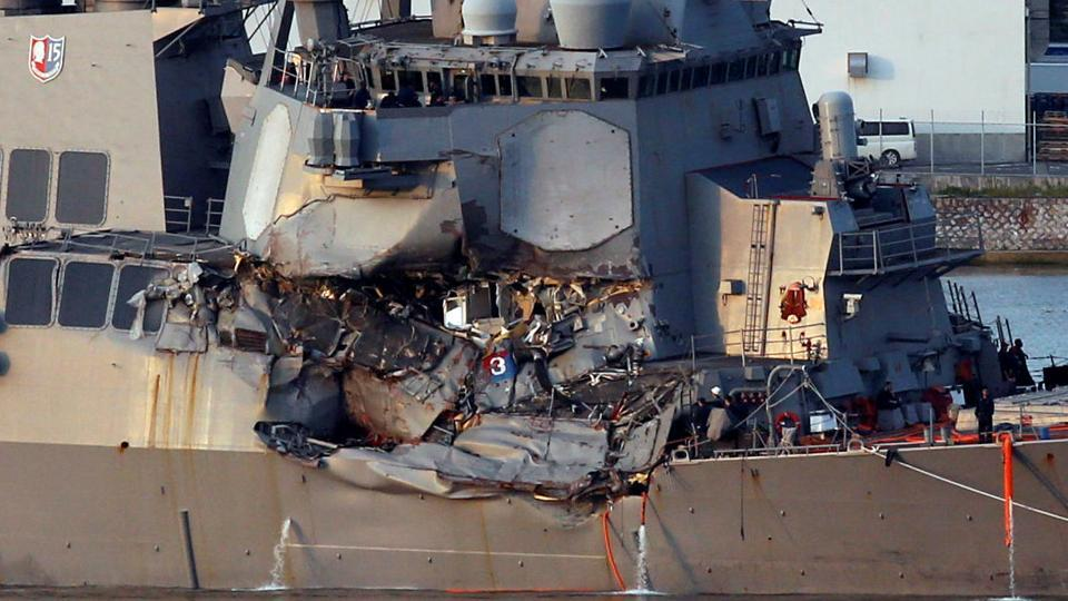 USS Fitzgerald,US navy ship,Japan collision