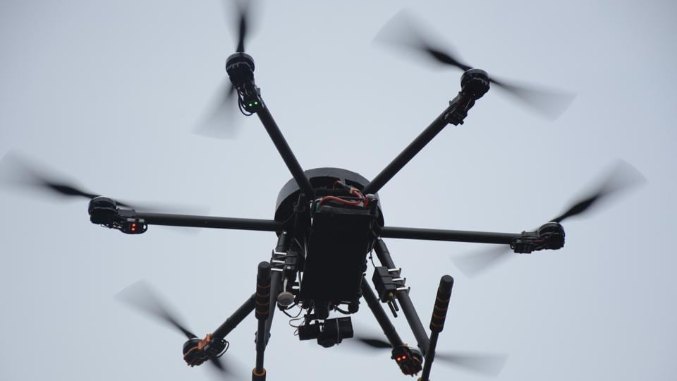 Police personnel have been trained to use these drones.
