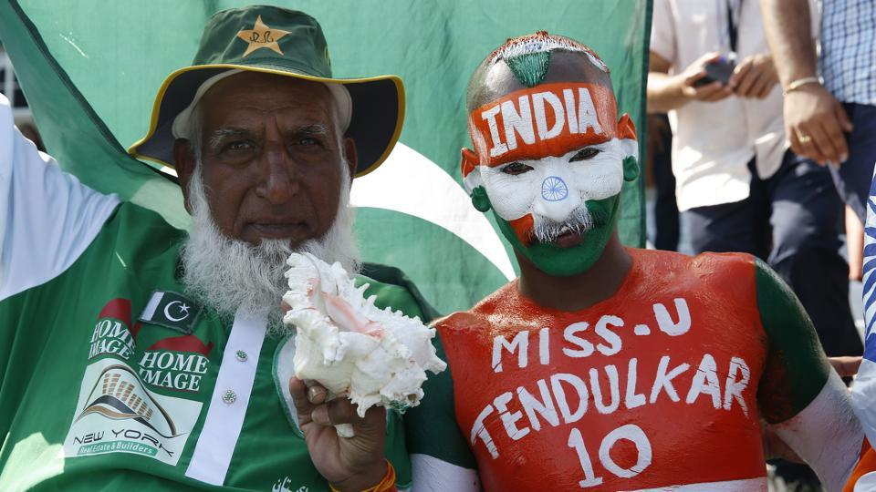 Indian and Pakistani fans lapped up the occasion in this high-voltage encounter. (REUTERS)