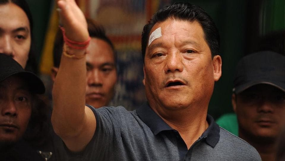 The Gorkhaland Personnel peacekeeping wing was mooted by GJM chief Bimal Gurung.