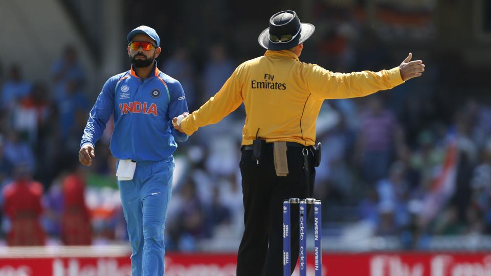 India started badly as Jasprit Bumrah had Fakhar Zaman caught but the bowler had overstepped. (REUTERS)