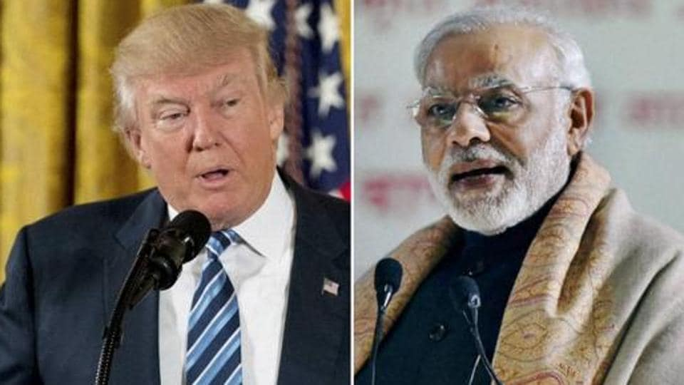 Narendra Modi and Donald Trump (Agencies)