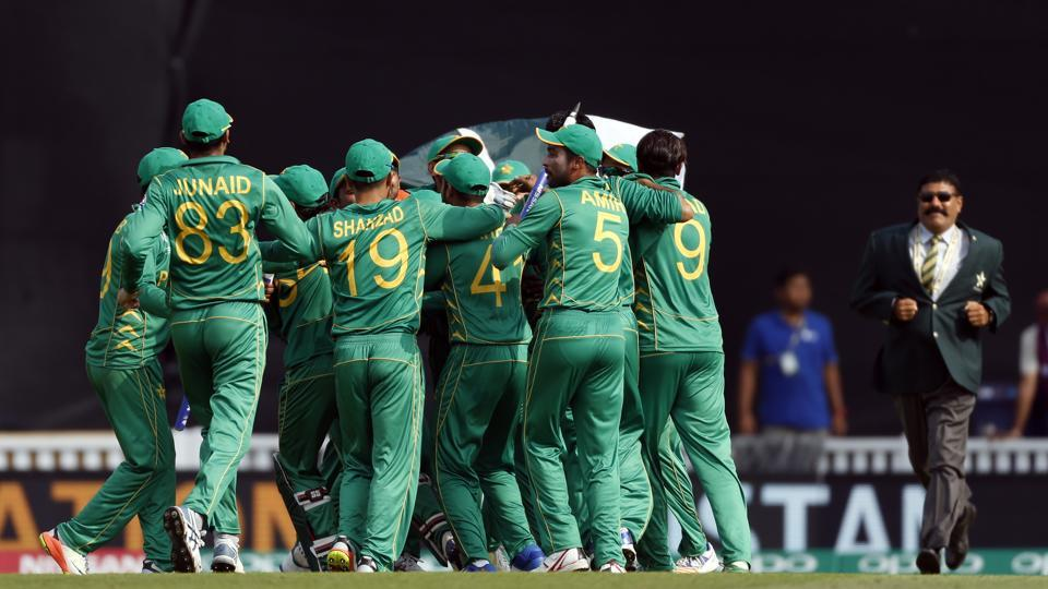 Hasan Ali took the final wicket and Pakistan defeated India by 180 runs to win the Champions Trophy for the first time. (REUTERS)