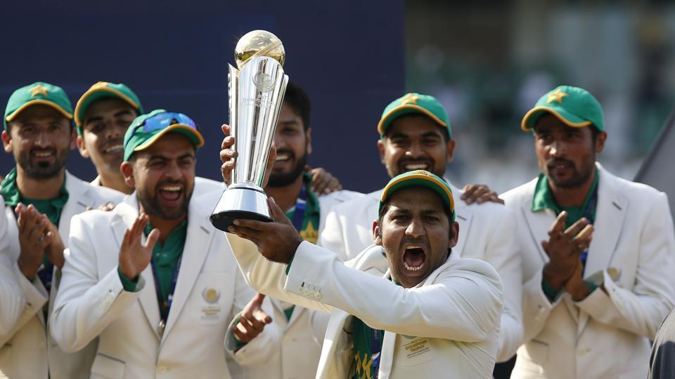 Pakistan became the fourth team after India, West Indies and Sri Lanka to win the ICC treble. (REUTERS)