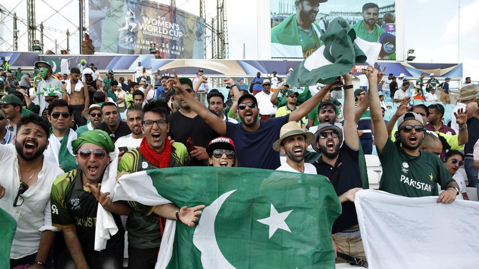 For Pakistan's fans, this was a moment to celebrate as they secured an ICC win over India after eight long years. (REUTERS)